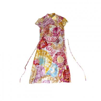 LAUREL silk kimono style dress