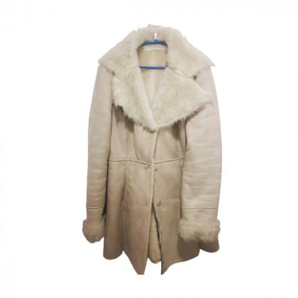 Faux fur mouton style coat size IT 36
