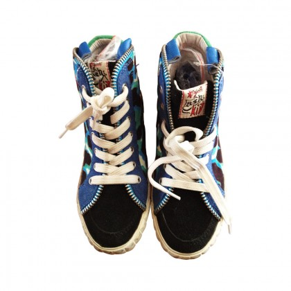 ASH high sneakers with camouflage details