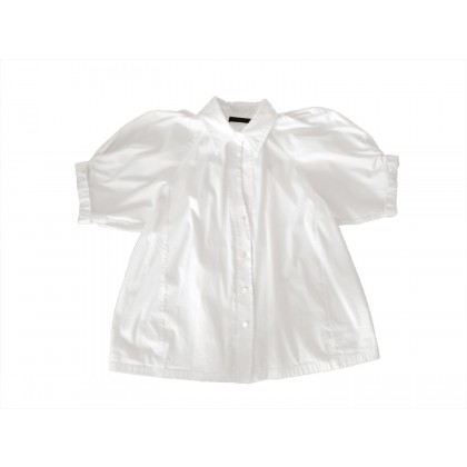 DONNA KARAN black label  WHITE SHIRT