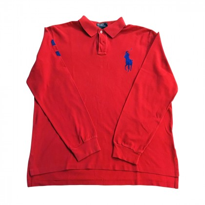 POLO RALPH LAUREN RED POLO T-SHIRT