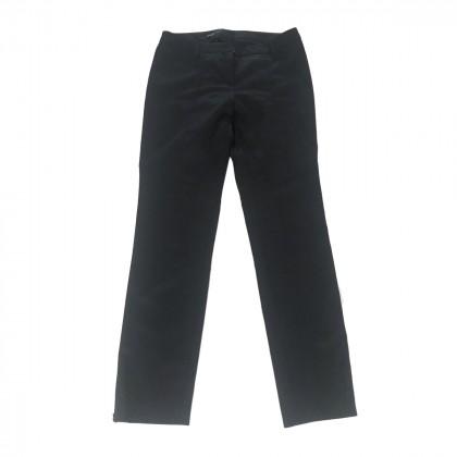 Caractère black trousers slim fit