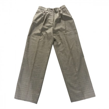 MICHAEL KORS VIRGIN WOOL 100% TROUSERS IT 44 OR US 8