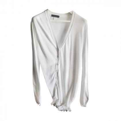 Twin Set white long cardigan sweater