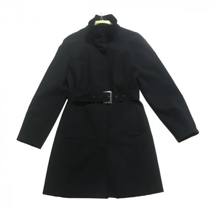 Caractère black Trench Coat