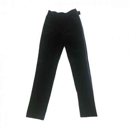 Gianni Vercase black velour trousers