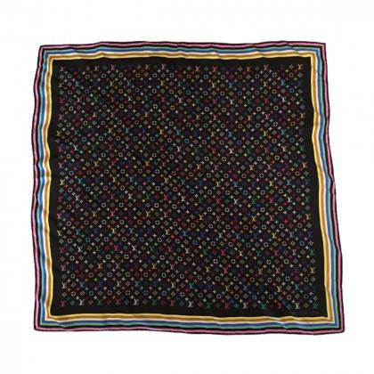 Louis Vuitton Monogram Silk Square Scarf