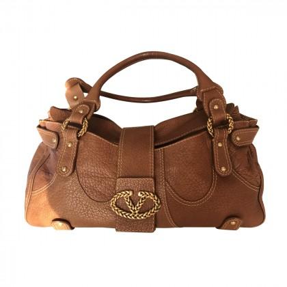 VALENTINO tan leather handbag