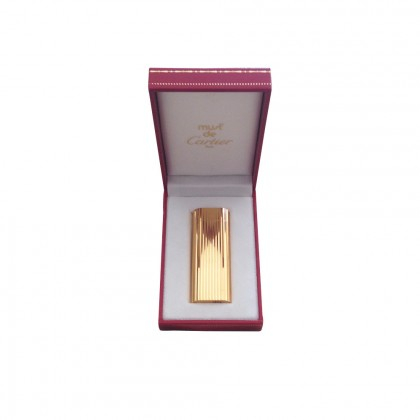 MUST DE CARTIER gold plated lighter