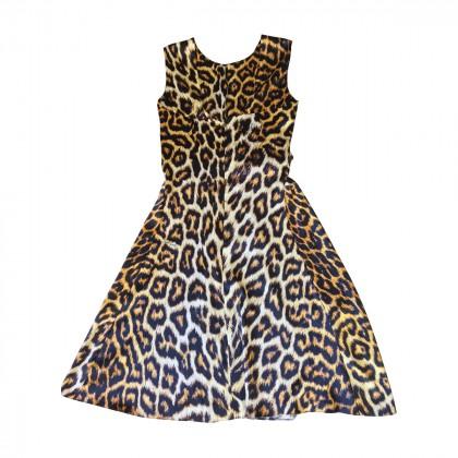 JUST CAVALLI Leopard dress