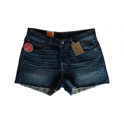 LEVI'S 501 denim shorts new with tags