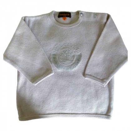 TIMBERLAND BRAND NEW SWEATER MATCHES PERFECTLY WITH THE KHAKI TROUSERS 12 months