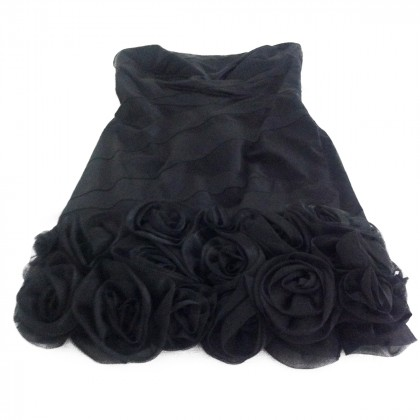 Karen Millen strapless black dress
