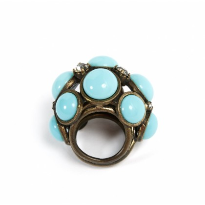 LANVIN turquoise ring