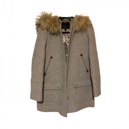 J Crew grey coat size 2