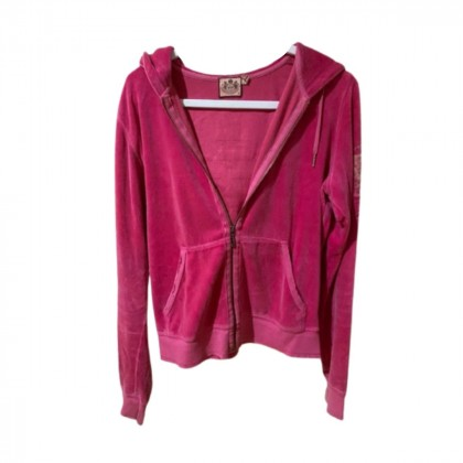 JUICY COUTURE FUCHSIA HOODIE SIZE XL