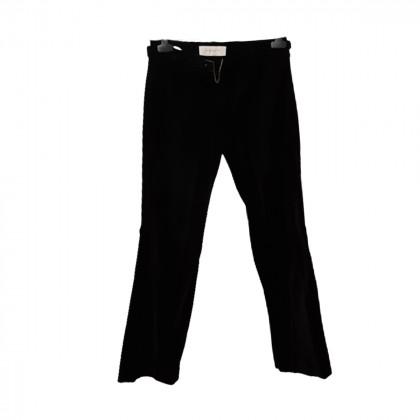 Karen Millen black velour pants size US4