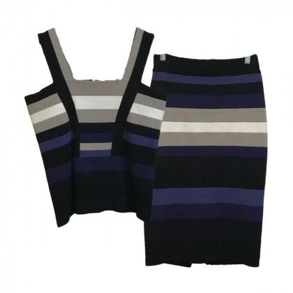 Karen Millen Multicolour Top and skirt size 3