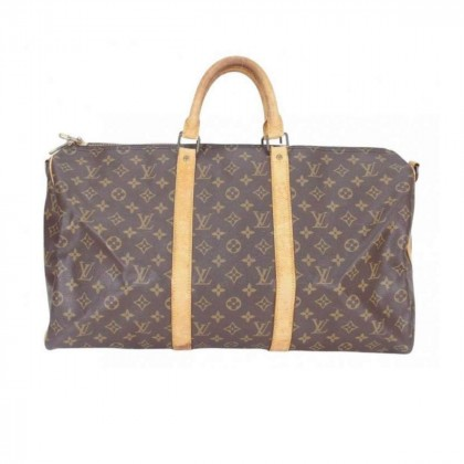 Louis Vuitton Keepall 50 Bandouliere in Monogram Canvas leather