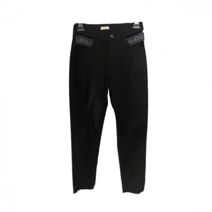 the KNL's frayed black trousers size S brand new