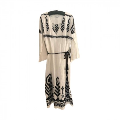 Kori maxi linen oversized belted Kaftan dress onesize