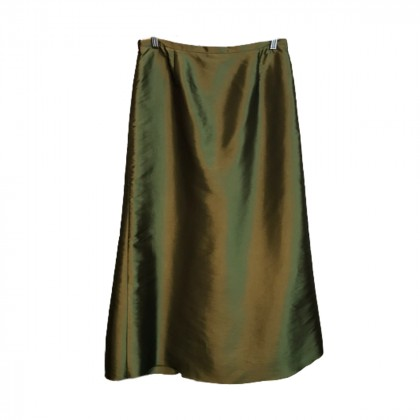 Vassilios Kostetsos Olive Green Skirt size IT 48