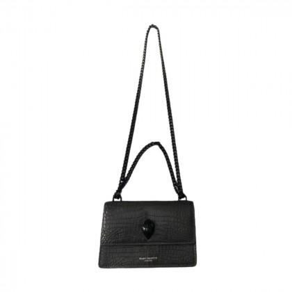 Kurt Geiger grey leather shoulder/crossbody bag
