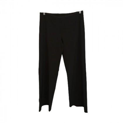 Laltramoda Black Wide Leg Trousers size IT 46