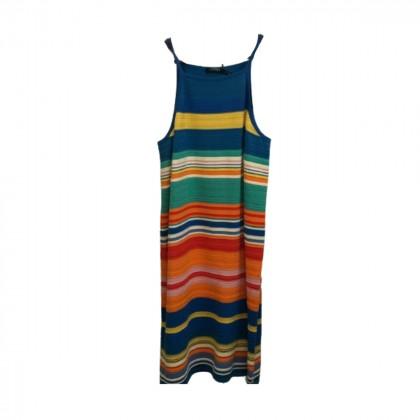 Lauren Ralph Lauren Multicolour Midi Dress size XL brand new