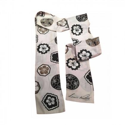 Louis Vuitton silk narrow scarf