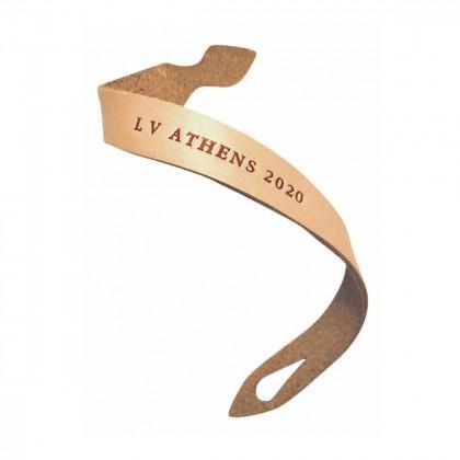 Louis Vuitton Vachetta leather collectible bracelet