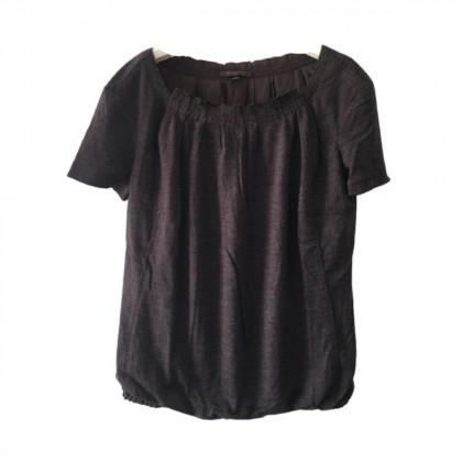 Louis Vuitton brown cashmere top size IT40