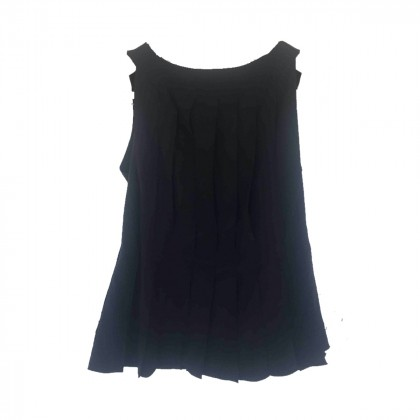 LOUIS VUITTON BLACK SILK TOP IT 38