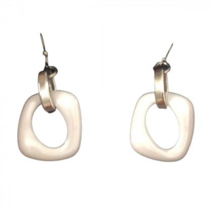 Lucca Barra gold plated silver earrings