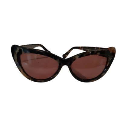 Butterfly shaped Tortoise made in London sunglasses