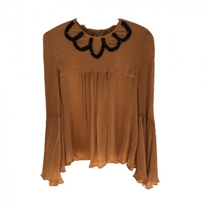 By Malene Birger silk top size S