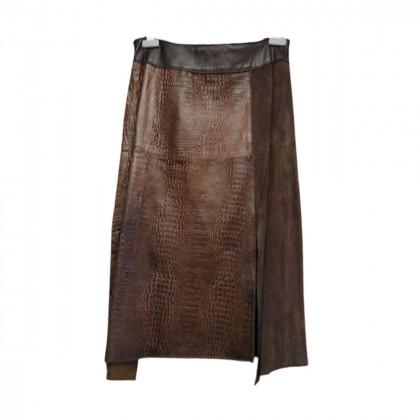 Marlboro classics leather skirt size IT 44
