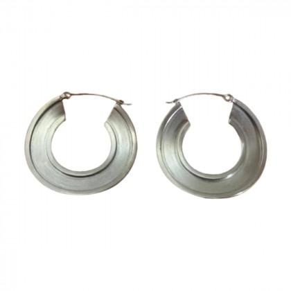Marni silver hoops