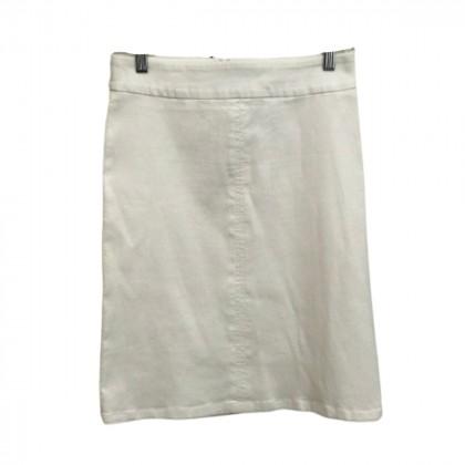 Max & Co White Mini skirt IT 42