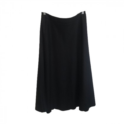 Max Mara Navy Blue Midi Skirt size IT 46