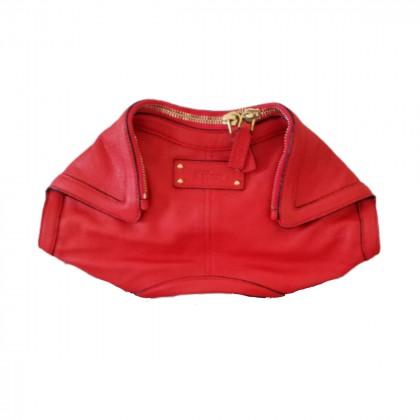 Alexander McQueen manta clutch bag