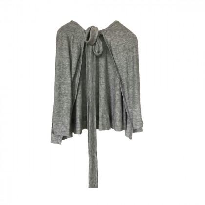 Madame Sou Sou grey knitwear cardigan