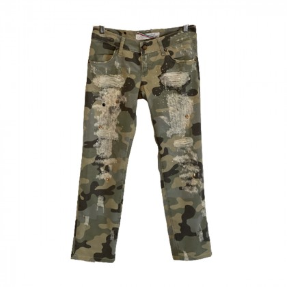 Met in Jeans army style trousers size 28
