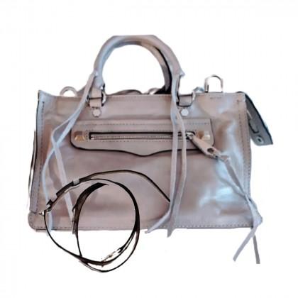 REBECCA MINKOFF Studded leather shoulder bag -BRAND NEW never used