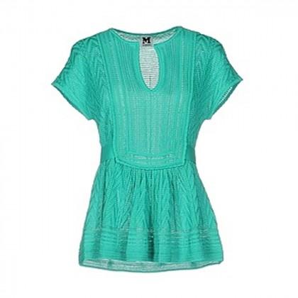 MISSONI short-sleeve blouse size IT40