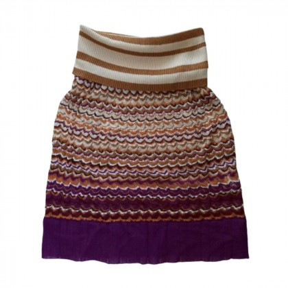 Missoni multicolor knitted skirt size IT 40