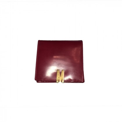 MOSCHINO red wallet