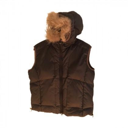 NAPAPIJRI Down Feather Hooded Gilet Puffer Vest  size L