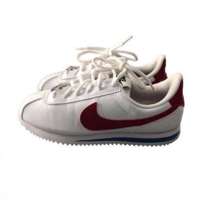 Nike Cortez Basic white leather trainers  size 36.5 -US 4 brand new