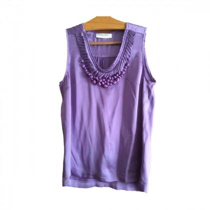 VALENTINO silk top